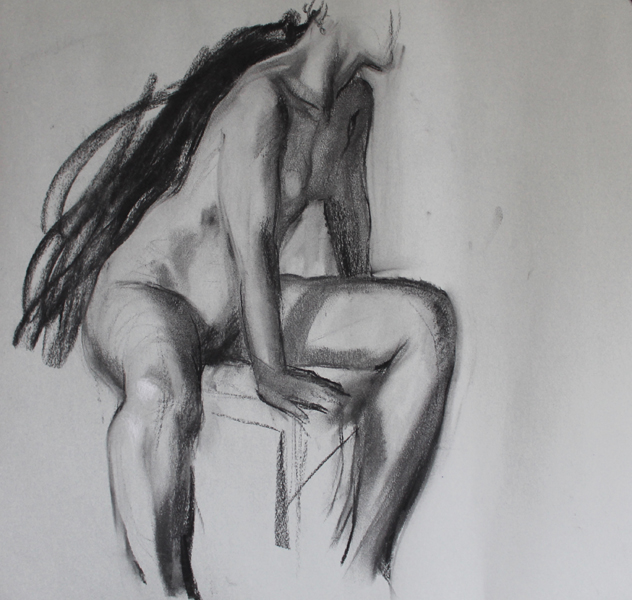 Nude Study 50x70 cm
