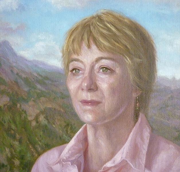 Dame Caroline Humphrey 51x66 cm