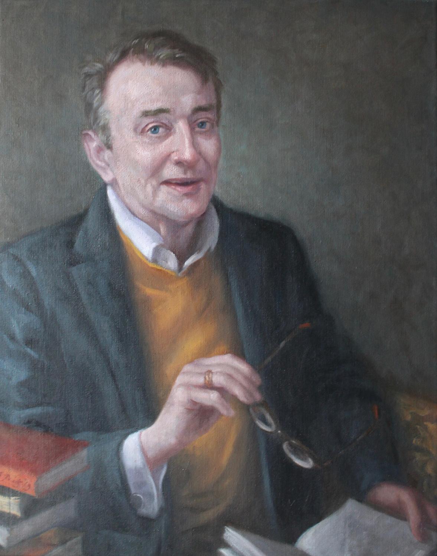 Portrait of John 48x70 cm