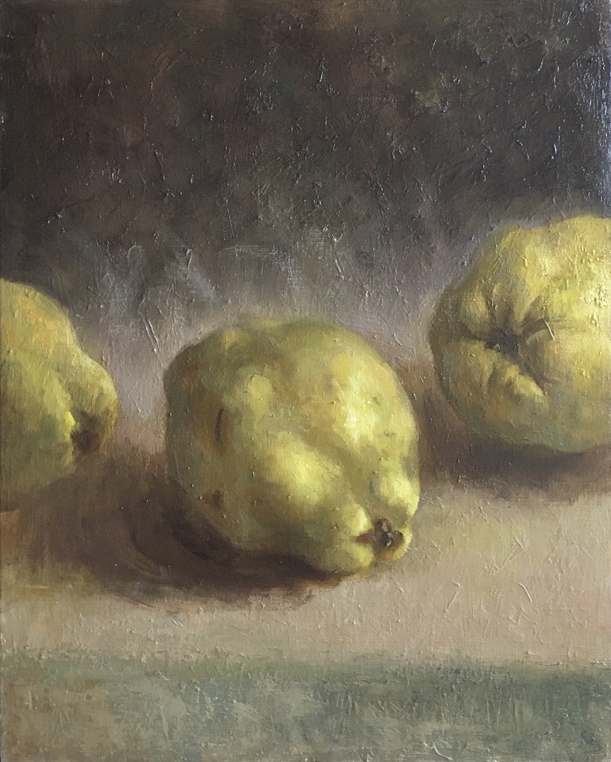 Three Quinces 24x30 cm